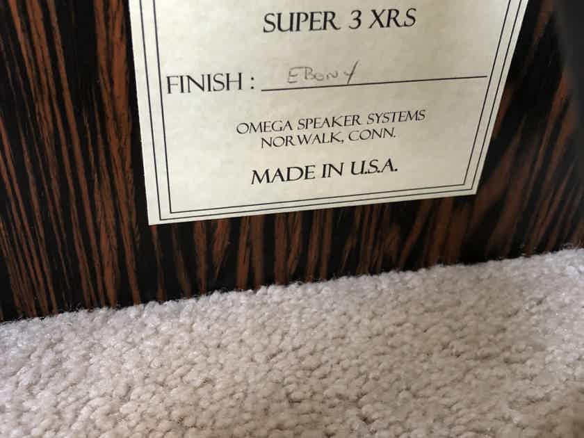 Omega Speaker Systems Super 3 XRS speakers