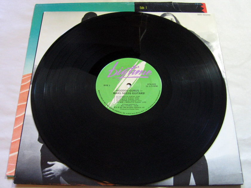 Hoodoo Gurus - Mars Needs Guitars!  - 1985  Big Time  BTA009