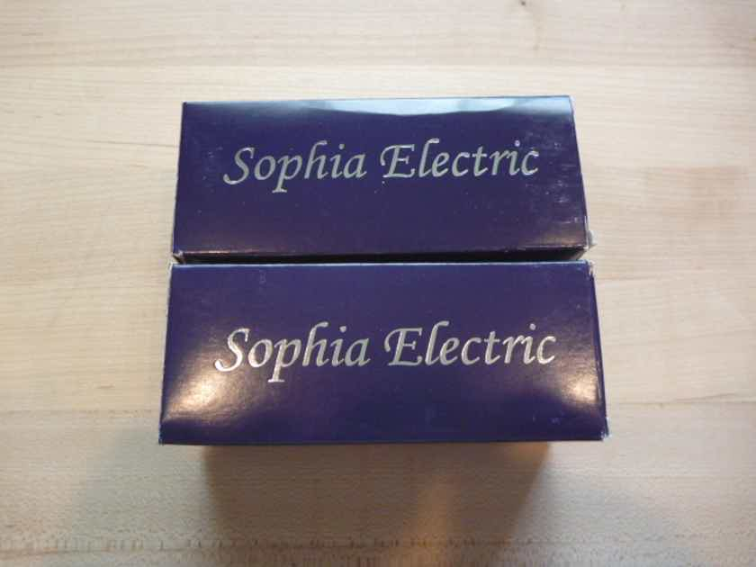 Sophia Electric 6SN7 Grade A matched tubes