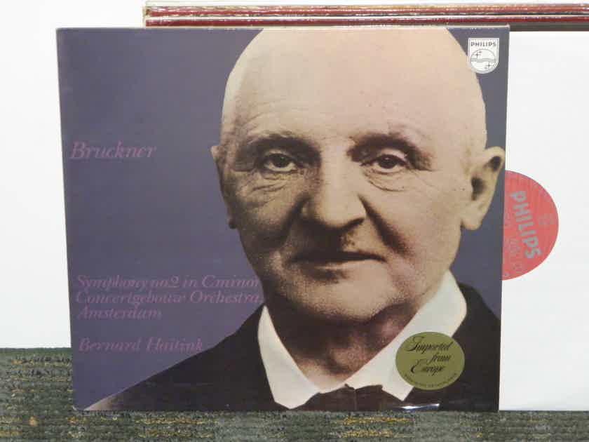 "Bernard Haitink/Concertgebouw Orchestra Amsterdam - Bruckner ""Symphony No. 2"" Philips Import Pressing 802 912"