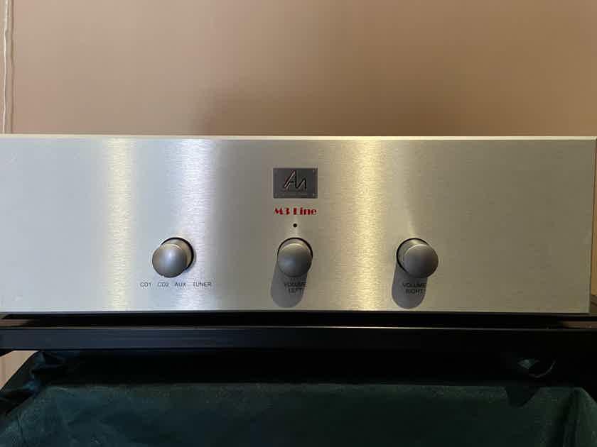 Audio Note (UK) M3 Line preamp latest version