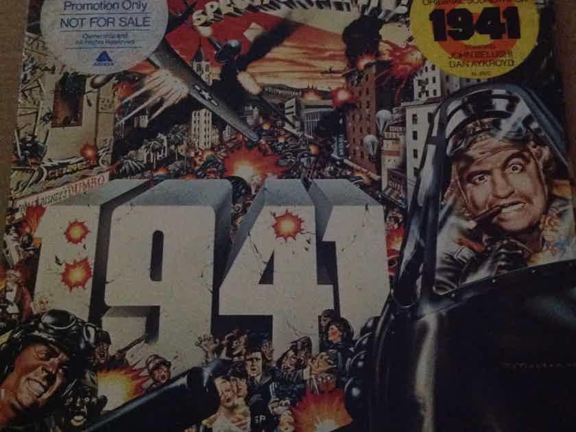 Soundtrack - 1941 Arista Records Promo Vinyl John Belushi With Hyper Sticker