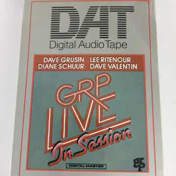 GRP - Live in Session - Pre-Recorded DAT Tape - NEW