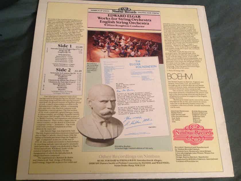 English String Orchestra  Edward Elgar Works For String Orchestra Nimbus Records 45 RPM Super Analogue Mastering