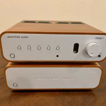 Nova PreAmp/DAC and 220 Amp