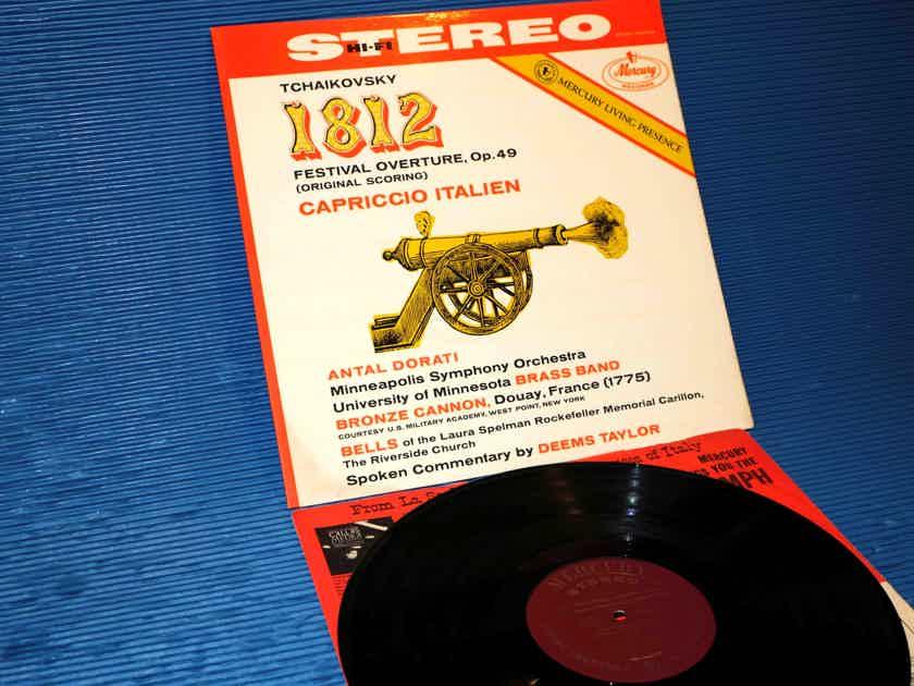 "TCHAIKOVSKY / Dorati   - ""1812 Overture"" - Mercury Living Presence 1962 RFR5/RFR4"