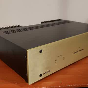 MF-2100 Stereo Power Amplifier.