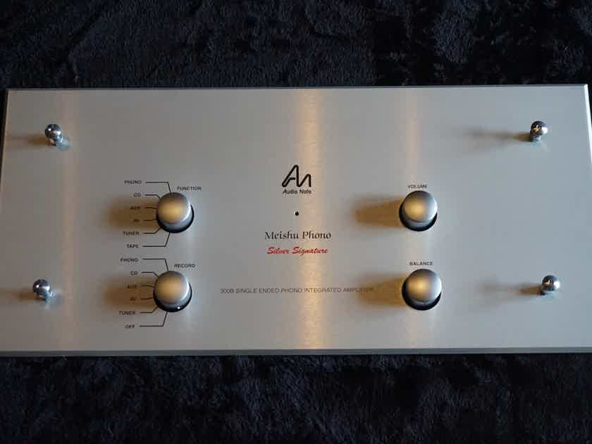 Audio Note Meishu Phono Silver Signature FACEPLATE