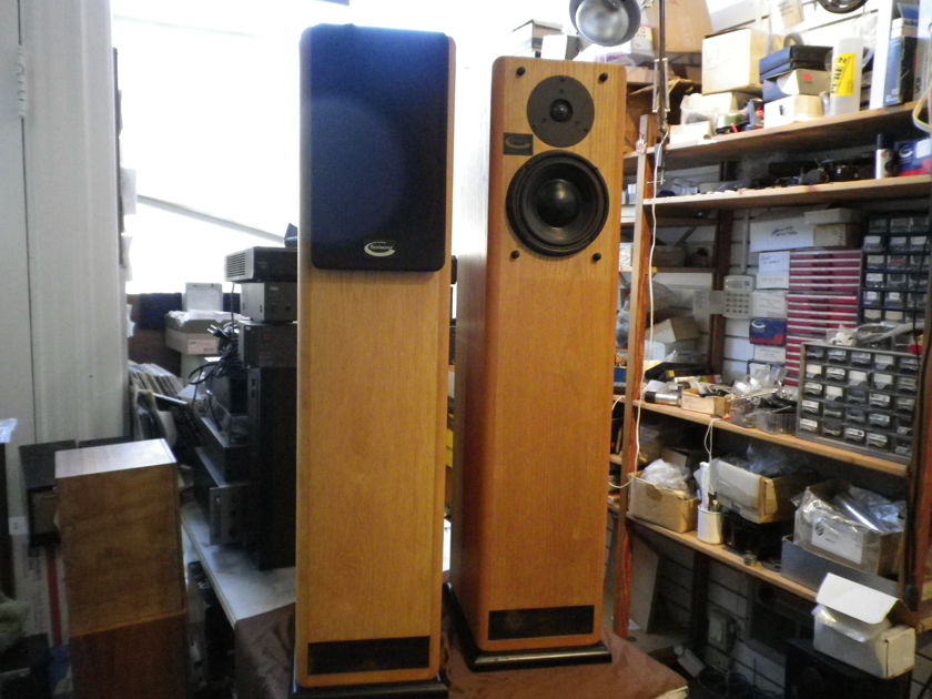 Renaissance Audio, (Morel USA) Prelude, Floor Standing Speakers,  Transmission Line Design, Quality Beyond your Expectation