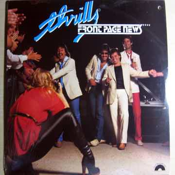 Thrills - Front Page News - SEALED 1981  G & P Records ...