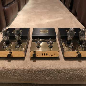 Audion PREMIER Preamp and Triode SILVER NIGHT 300B Amps