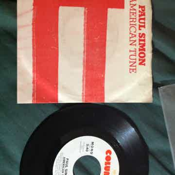Paul Simon - American Tune Columbia Records Promo 45 Si...