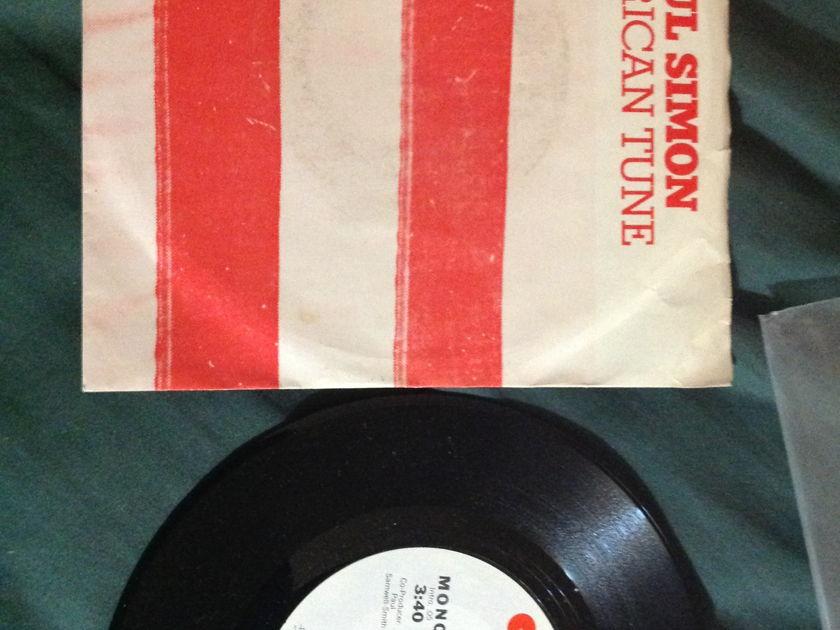 Paul Simon - American Tune Promo 45 With Sleeve