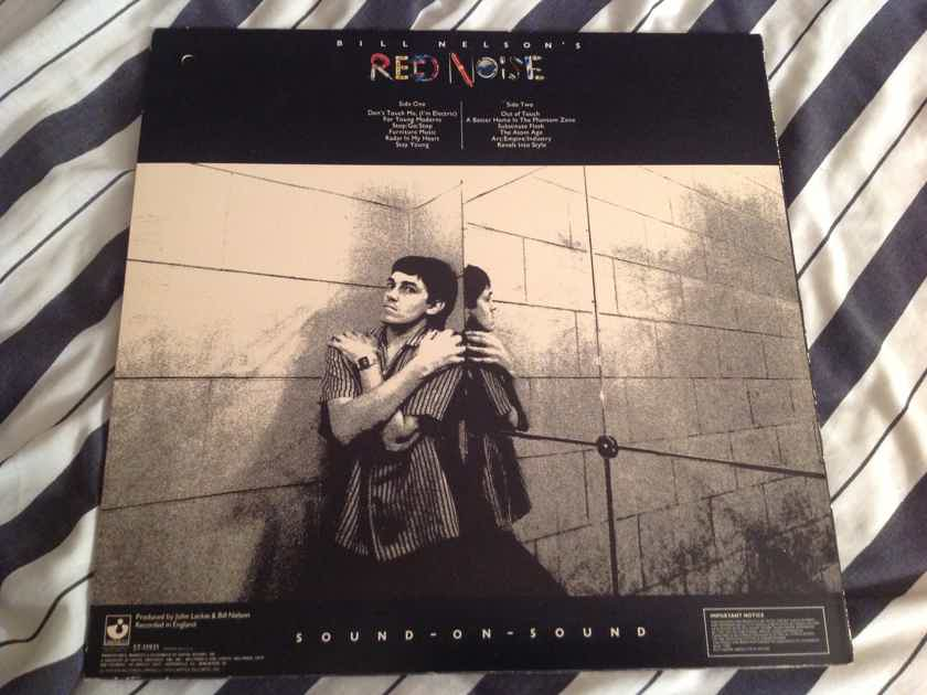 Bill Nelson's Red Noise  Sound-On-Sound Capitol/Harvest Records Deadwax Wally