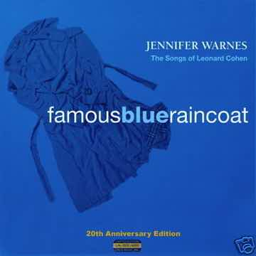 Jennifer Warnes Famous Blue Raincoat 20th Anv. CISCO 3-LPs
