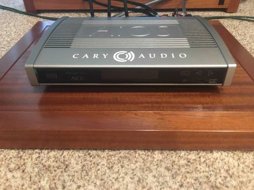 Cary Audio AiOS  Nice Integrated/Streamer All in One