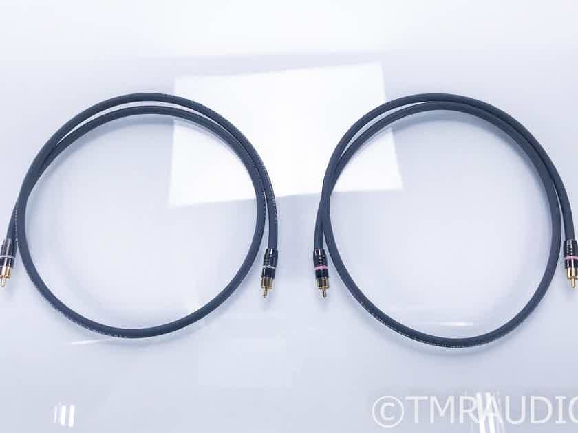 Straightwire Symphony II RCA Cables; 1m Pair Interconnects (17019)