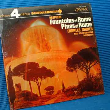 """RESPIGHI / Munch  """"Fountains of Rome / Pines of Rome"""" -"""