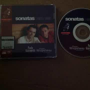 Paulo Giacometti Sonatas C. Franck & J. Brahms