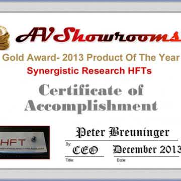 Product of the Year 2013 Award