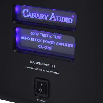 Canary Audio CA339 MKII Mono Block 50 WPC 300B Amplifiers