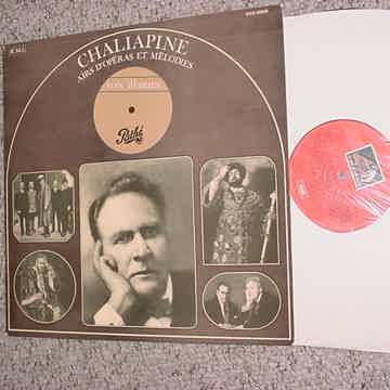 Feodor Chaliapine lp record Airs D'Operas Et Melodies