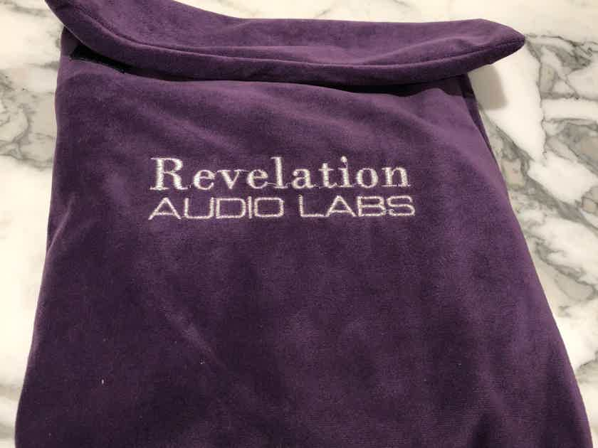 Revelation Audio Labs Passage CryoSilver Reference Umbilical Power Cable for Pass Labs XP-22 or XP-27 Preamp