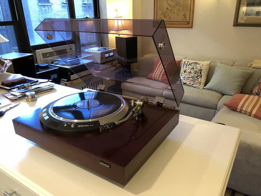 Denon  DP-80 Turntable with Jelco 250 Tonearm