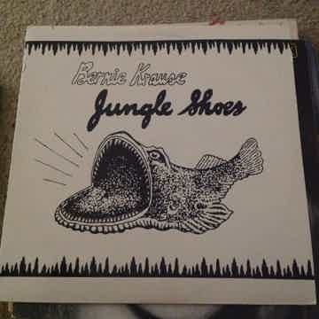 Bernie Krause - Jungle Shoes Ryko Label NM Quiex Audiop...