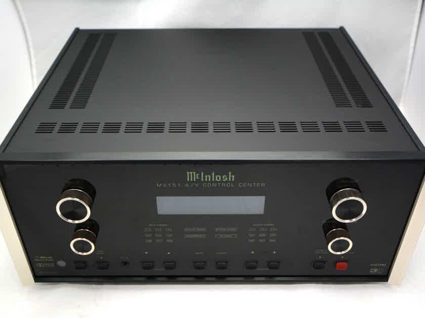 McIntosh MX-151 - Premium Home Theater and Control Center.