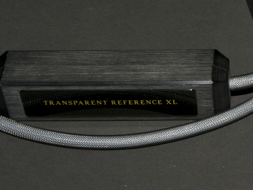 TRANSPARENT AUDIO REFERENCE XL XLR INTERCONNECT CABLES/73""