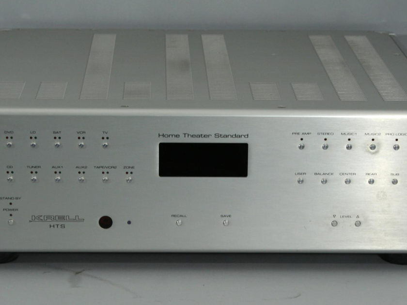 """Krell Home Theater Standard 7.1 / HTS 7.1 Theater Processor with 7.1 """"Current Mode"""" Throughput"""