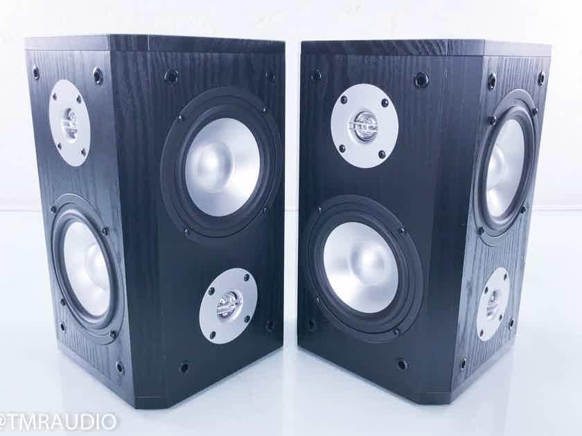 TruAudio BLU-5 SUR Satellite / Surround Speakers Black Pair (New / Old Stock) (15074)