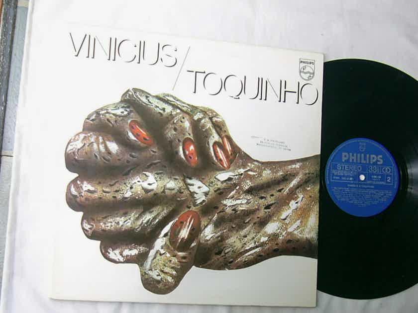 VINICIUS & TOQUINHO - VINICIUS / TOQUINHO - RARE  - ORIG 1975 LATIN JAZZ LP  - BRAZIL - GATEFOLD