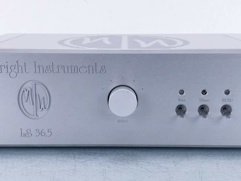 Modwright LS 36.5 Stereo Tube Preamplifier LS-36.5; Silver (15483)