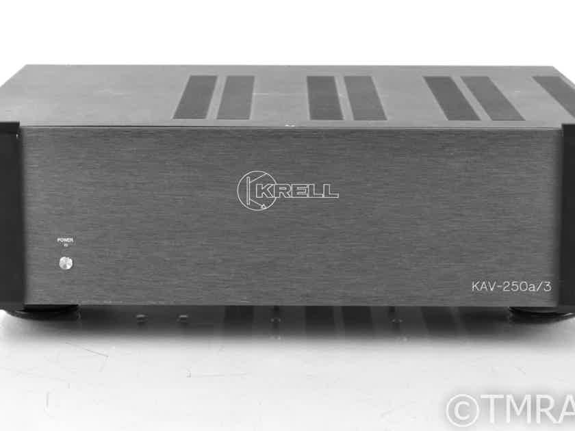 Krell KAV-250a/3 3 Channel Power Amplifier; KAV250A3 (21999)
