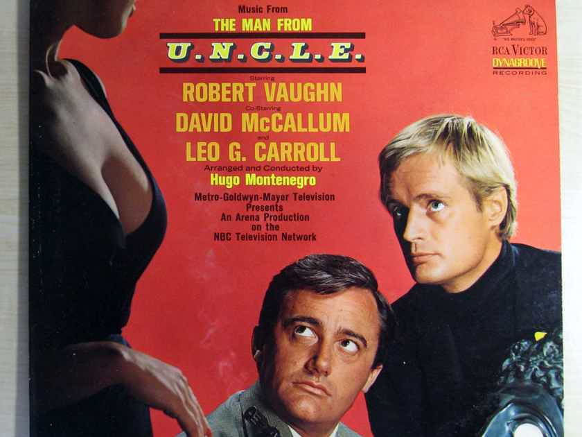 Hugo Montenegro - Original Music From The Man From U.N.C.L.E. - 1965 RCA Victor LSP-3475