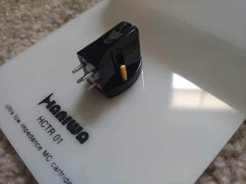 Haniwa Audio HCTR01 like new, amazing low inductance/impedance cartridge <100 hours, FREE SHIPPING