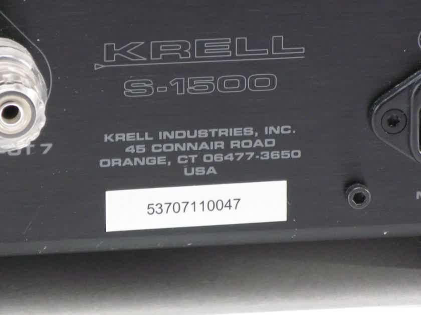 Krell S-1500/7   7 Channel Power Amplifier