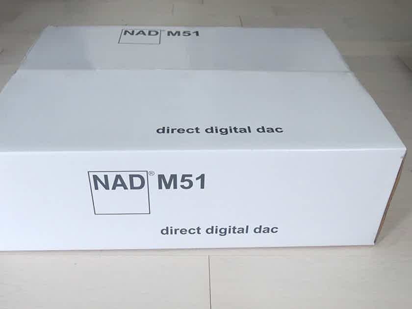 NAD Masters M51 DAC/preamp w/HDMI switching, BRAND NEW