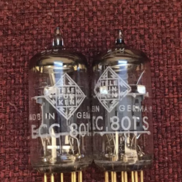 Vaccum Tube Audio ECC801S/12AT7/ECC81