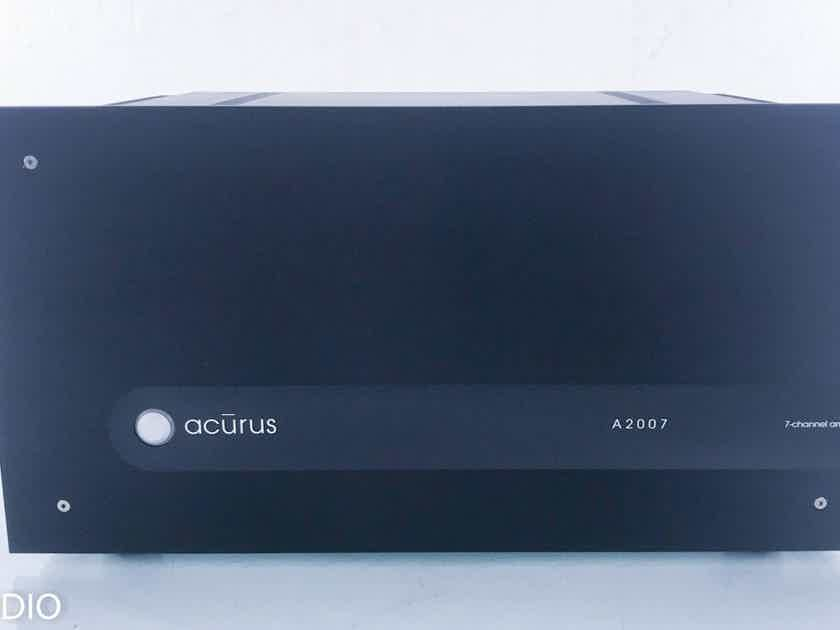 Acurus A2007 7 Channel Power Amplifier Black (15093)