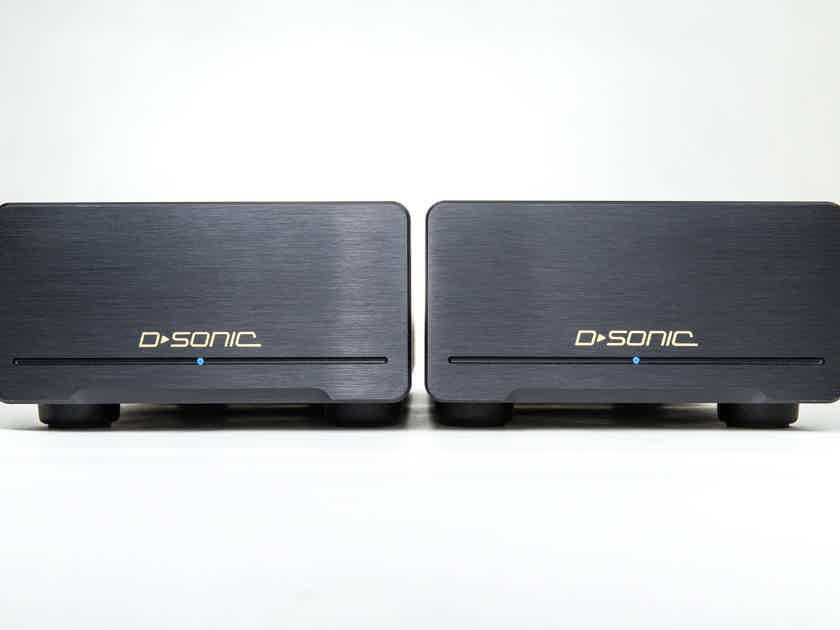 D-SONIC M3a-600M 2x600w Mono Amplifier