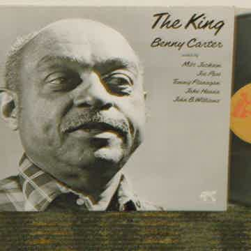 """Benny Carter+more """"The King"""" Pablo 2310 768 W/ Gold Pro..."""