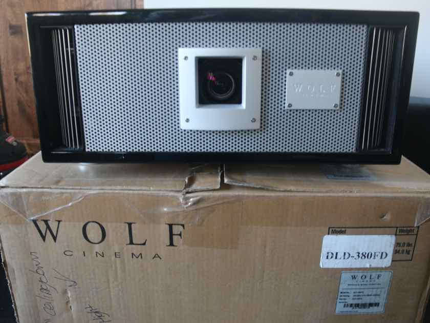 Wolf Cinema DLD-380FD Long-life Blu-Escent™ Laser Home Theater Projector