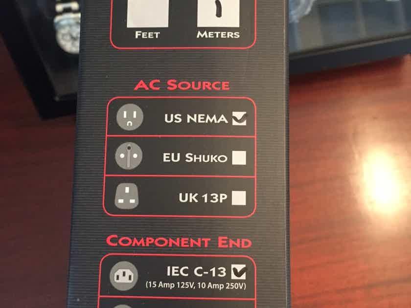 AudioQuest Tornado 1m 15 amp power cord Mint customer trade-in