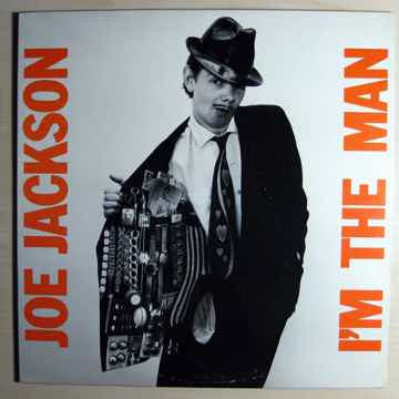 Joe Jackson - I'm The Man - 1979 A&M Records SP-4794