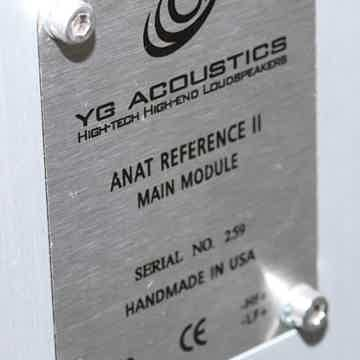 YG Acoustics Anat Reference II