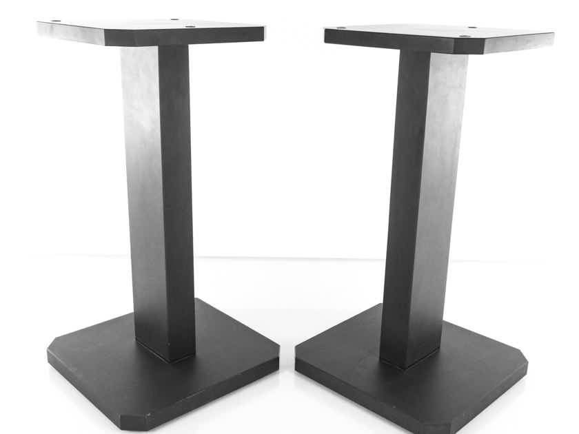 "B&W Silver Signature 21"" Speaker Stands; Slate Pair (19728)"