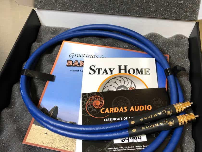Cardas Audio Clear Interconnect - RCA 1.0M B Stock